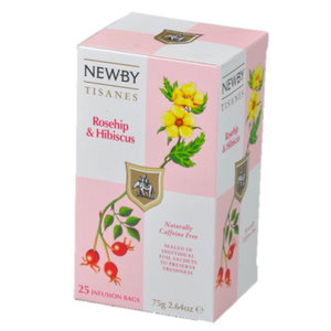 Tea Infusions,Newby (UK),Rosehip & Hibiscus Infusion
