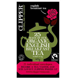 Organic Tea,Clipper UK,Organic English Breakfast Tea (62.5g)