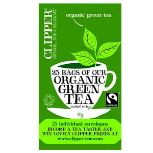 Organic Tea,Clipper UK,Organic Green Tea (50g)