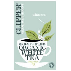 White Tea,Clipper UK,Clipper Organic White Tea (26 tea bags)