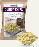 Popcorn & Chips,SIMPLY7,Simply7 Quinoa Chips - Sea Salt (23g)