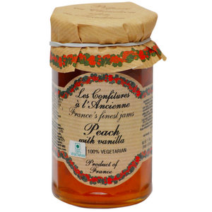 Jams And Preserves,Confitures (France),Peach with Vanilla Jam (270G)