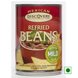 Mexican,Discovery,Discovery Refried Beans Mild(415g)