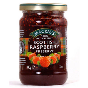 Jams And Preserves,Mackays (Scotland),Scottish Raspberry Preserve (340G)