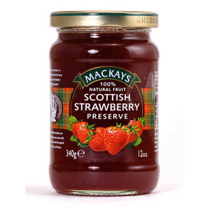 Jams And Preserves,Mackays (Scotland),Scottish Strawberry Preserve (340G)