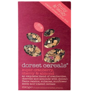 Breakfast,Dorset Cereals (UK),Super Cranberry, Cherry & Almond Muesli (540G)