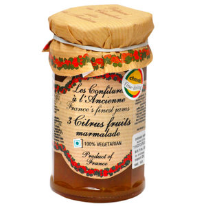 Marmalade,Confitures (France),3 Citrus Fruits Marmalade (270g)