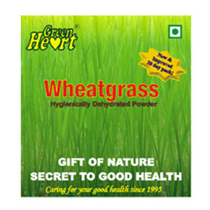 On-the-Go Snacks,Green Heart,Wheatgrass (60g)