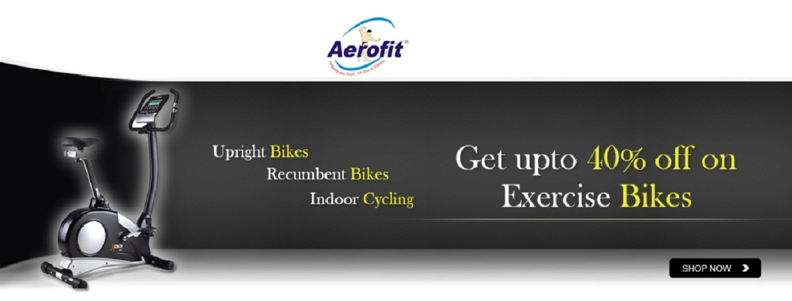 Get up to 40% off on Exercise Bikes