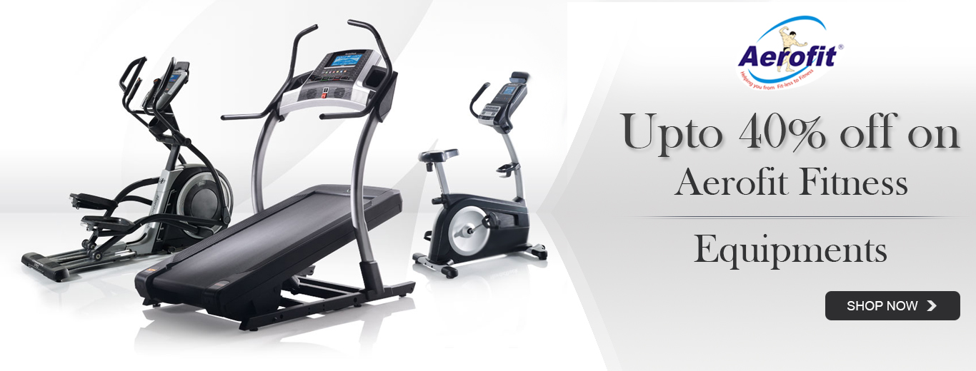 Up to 40% off on Aerofit fitness equipments