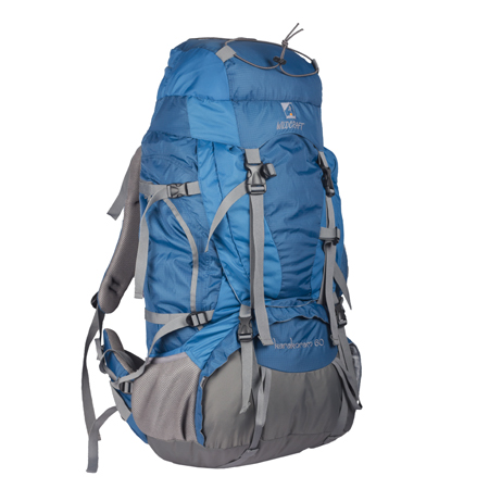 Rucksacks, Equipment, Shop Gear & Apparel, Wildcraft, Wildcraft, Karakoram Outdoor Adventure Rucksack , 420 Nylon Dobby | 210 Nylon Double Ripstop , 60 Liters , 30x14x8 , 2360 Gms ,  ,  ,