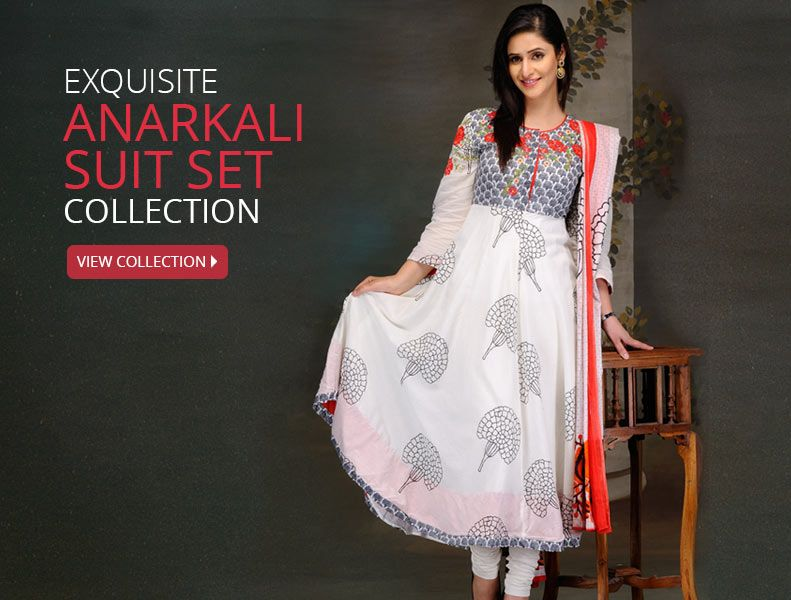 Biba Anarkali Suit Set COupons Promo Codes Cashback offers Deals
