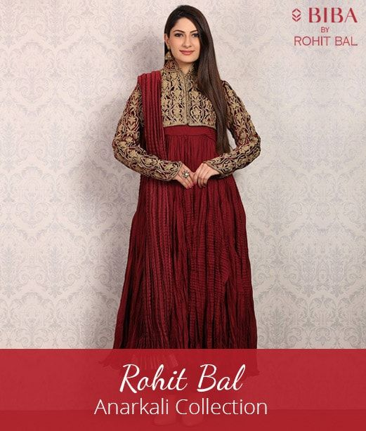 Rohit Bal - Anarkali Collection at Biba Coupons Promo Codes Cashback offers