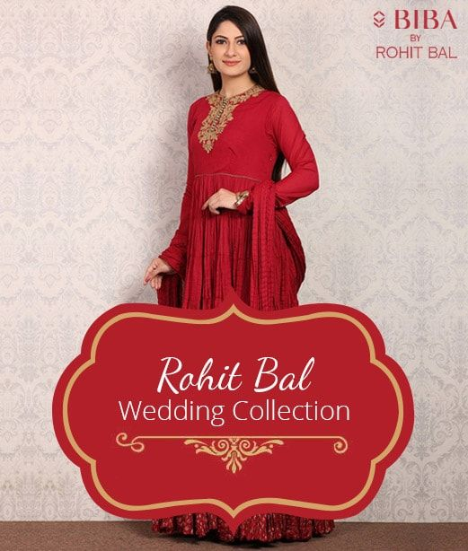 Rohit Bal - Wedding Collection at Biba COupons Promo Codes Cashback offers