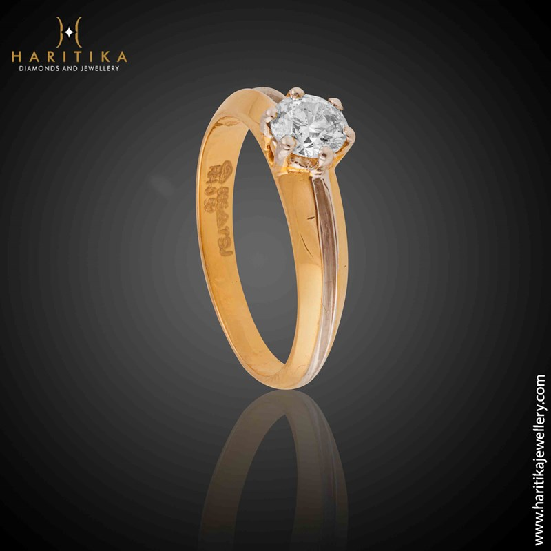 Perfection Solitaire Ring