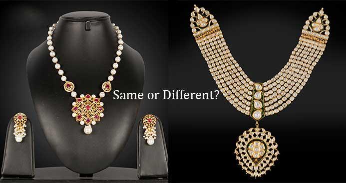 Blog post kundan and polki necklace set difference aloadofball Choice Image