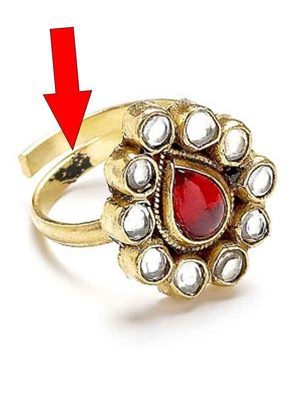 Jadau-Ring