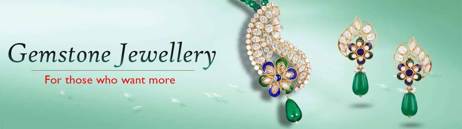 Gemstones Jewellery Banner
