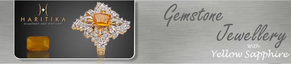 Yellow Sapphire Gemstone Banner