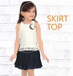 girls-skirt-top