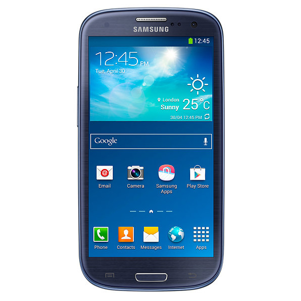 smart phones samsung galaxy s3 neo i9300i blue. Black Bedroom Furniture Sets. Home Design Ideas