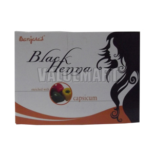 Banjara's Black Henna, Enriched With Capsicum