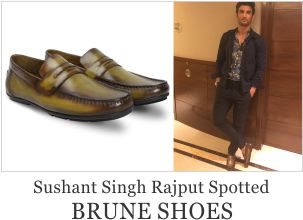 Sushant Singh Rajput Spotted with Brune Shoes
