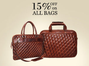 15% off on all Bags & Backpacks
