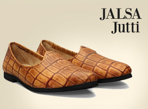 Jalsa Jutti @ Rs.799, plus 20% cash back