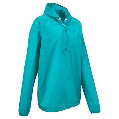 Quechua Raincut Zip Jacket Pink