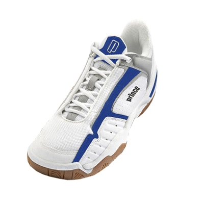 PRINCE NFS INDOOR Badminton/Squash Shoes - WHITE/BLUE