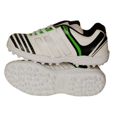 HDL VISION CRICKET SHOES (GREEN/WHITE)