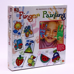 Painting Kits, Kids Craft, Our Products, Toy Kraft, FINGER PAINTING KIT , 30 (L) x 30 (H) x 5 (thk) cms , KIT , 2+ , U