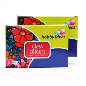 Glass Colors, Glass Craft, Our Products, Hobby Ideas, FEVICRYL WATER BASED GLASS COL , 13(L)  x 7.5 (H) x 3.5 (Th) cms , Kit , 4+ , U , India