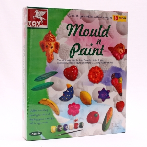 Plaster Of Paris, Moulding Craft, Our Products, Toy Kraft, MOULD & PAINT , 35 (L) x 29 (H) x 6 (thk) cms , MOULD AND PAINT KIT , 6+ , U , INDIA