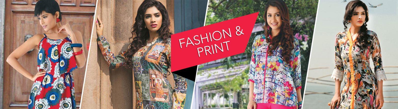 Printed Cotton Kurtis and Tunics