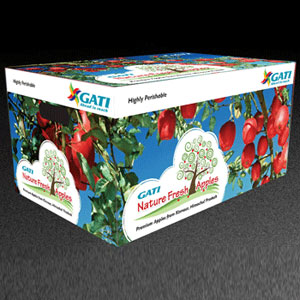 Other Hampers, Hampers, Gifts, Makemygiftz, Kinnaur Apple (2 dozen box)
