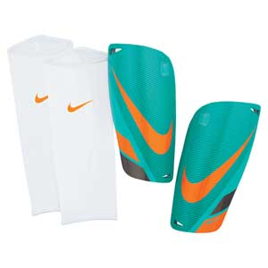 Football Shin Guards, Protective Gear, Football, Sports, Buy, Nike, Nike Mercurial Lite Shin Guard (Green)