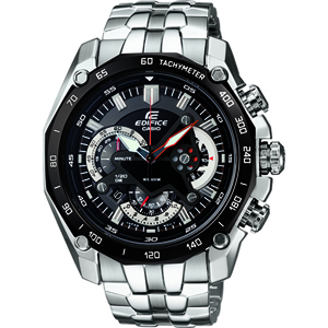 Chronograph, Edifice, Casio, 3D Shield Casio Chronograph EF-550D-1AVDF (ED390)