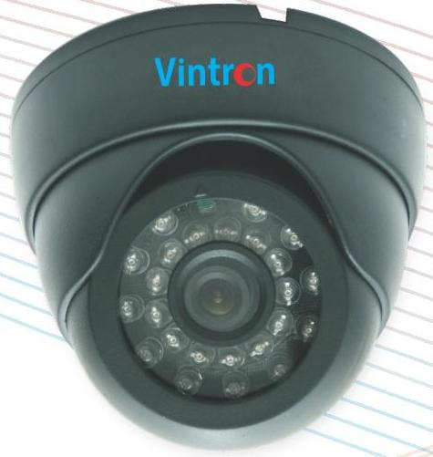 DOME Cameras,Vintron,Vintron 620TVL CCTV Camera with 20Mtr. Night Vision DOME