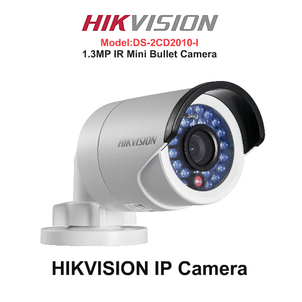 IP Cameras,Hikvision,HIKVISION IP Camera DS-2CD2010-I (IR MINI Bullet Network Camera)
