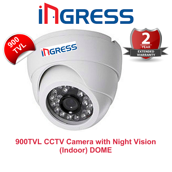 Ingress 900TVL CCTV Camera