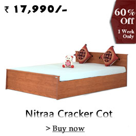 Nitraa Cracker Cot