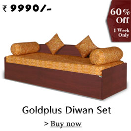 Goldplus Diwan Set( 6 Items )