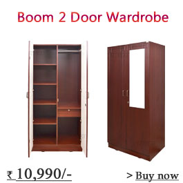 Nitraa Boom Eco 3 Door Wardrobe