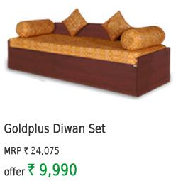 Goldplus Diwan Set( 6 Items )