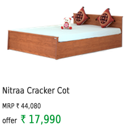 Nitraa Cracker Cot