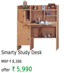Smart Study Desk With Multi Racks