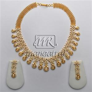 Diamond Necklace Sets, Diamond Jewellery, Mangatrai, 14.33 - 6.80ct. Diamond Necklace Set in 18kt. Gold