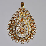 Diamond Lockets,Mangatrai,2.04ct. Diamond Locket in 18kt. Gold